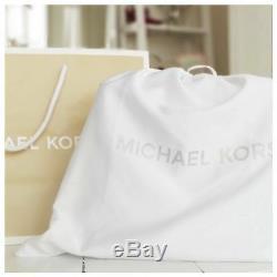 100% Michael Kors Jet Set Travel Saffiano LARGE Top Zip Grey New + Tags