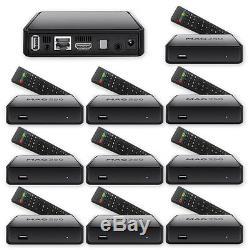 10 x MAG 250 BOX Multimediaplayer Internet TV Box IPTV SET TOP USB HDMI HDTV Neu