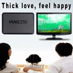 10x MAG 250 IPTV SET TOP TV BOX Multimedia player Internet +USB Wlan WIFI Stick