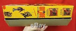 1964 Vintage Gi Joe Joezeta #7700 Action Marin In Fold Top Variation Boxed Set