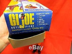 1964 Vintage Gi Joe Joezeta Action Pilot Set In Fold Top Box Complete Original