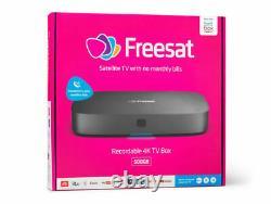 1TB Freesat UHD-4X Smart 4K Ultra HD Recordable Satellite Receiver Set Top Box