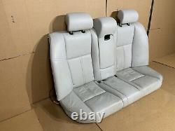 2004-2010 Bmw Oem E60 E61 M5 Seat Front And Rear Set Of Active Seats Silverstone