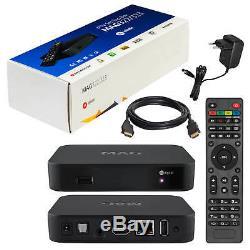 2 x MAG 322 IPTV SET TOP BOX Multimedia player Internet HD TV IP Konsole 3D 2USB