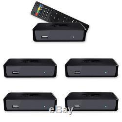 5 x MAG 254 IPTV SET TOP BOX von Infomir Receiver Multimedia player Internet TV