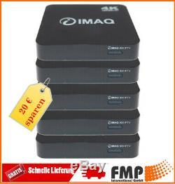 5x IMAQ 900 IPRe HEVC H265 IPRec Multimedia Set-Top-Box Xtream Stalker Wifi Neu