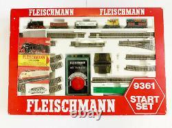 9361 Start Set Fleischmann N Gauge Boxed Top