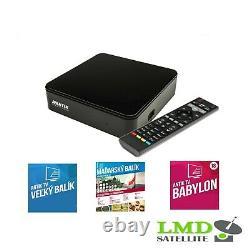 ANTIK NANO 3 IP 4K HDR set-top box SLOVAK and CZECH TV Streaming Media Player