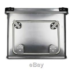 Alu Pannier Set Gobi 34L-34L Top Box 36L with mounting kit for luggage racks