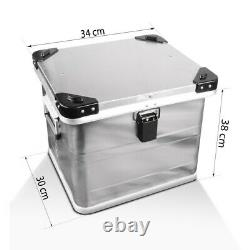 Alu Pannier Set Gobi 45L-34L Top Box 36L with mounting kit for luggage racks