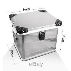 Alu Pannier Set Gobi 45L-45L Top Box 36L with mounting kit for luggage racks