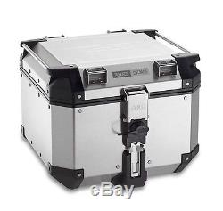 Aluminium Top Box Set Givi BMW R 1200 R 15-16 Monokey OBK42A silver