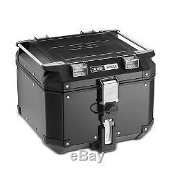 Aluminium Top Box Set Givi Triumph Tiger Explorer 12-15 OBK42B Monokey black