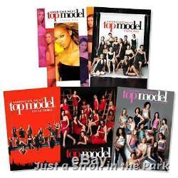America's Next Top Model Series Complete Seasons 1 2 3 4 5 Box / DVD Set(s) NEW