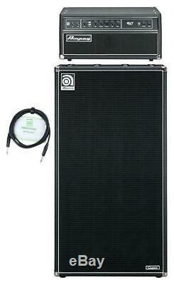 Ampeg SVT CL SVT-810E Röhre Set Bass Stack Topteil 8x 10 Box 300 Watt Kabel