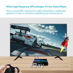 Android 9.0 TV BOX Amlogic S922X 4G 128G DDR4 4k HD BT 5.0 Dual Wifi Set Top Box