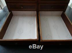 Antique Victorian Desk Top set of Drawers (596)