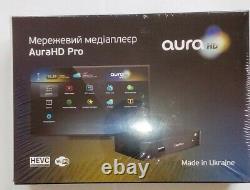 Aura HD Pro Original Wi-Fi OVP Set Top Box TV Receiver Multimedia DIGITAL MAG