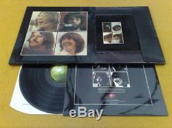 BEATLES LET IT BE SUPERB UK PXS1 BOX SET RED APPLE SLV 2u2u TOP EXAMPLE