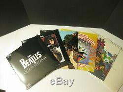 BEATLES WOODEN ROLL TOP BOX SET 14 LPs RARE 1988 LIMITED EDITION VINYL NEW