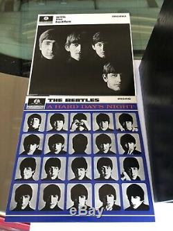BEATLES WOODEN ROLL TOP BOX SET 14 LPs VERY RARE LIMITED EDITION 1988 Record Set