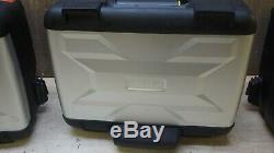 BMW F700 800 / R1200 1250 GS VARIABLE TOP SIDE BOX PANNIER CASE SET Vario Case