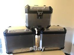 BMW MOTORRAD R1200 GSA 2018 Top Box and Panniers Full Luggage Set
