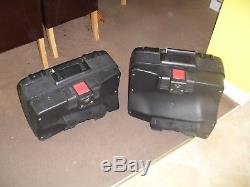 BMW Vario Expandable Top Box & Panniers for F650GS with Lock & Key Set