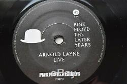 BOTH Etched Arnold Layne 7 Monster & Top Hat Pink Floyd The Later Years Box Set