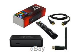 BRAND NEW MAG 254 IPTV Set Top Box MAG254 by INFOMIR + WIFI ANTENNA Included