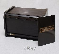 Beatles 1988 Roll Top Bread Box 16 CD Set UK Releases + Past Masters + Booklet