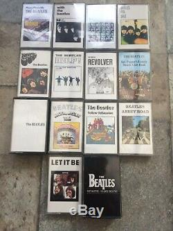 Beatles No'd Cassette Box Set Black Roll Top Bread Box 16 Tapes Mint Unplayed