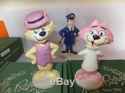 Beswick TOP CAT, full set of 7 figures including Officer Dibble BOXED, excellent