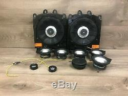 Bmw Oem E60 525 528 530 535 545 550 M5 Front Rear Speaker Speakers Logic 7 Set 2