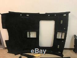 Bmw Oem E60 E61 M5 Upper Roof Headliner Alcantara Suede A B C Pillar Rear Deck