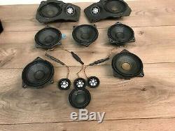 Bmw Oem F01 F02 740 750 760 Front Rear Top Hifi Speakers Speaker Set 2009-2015