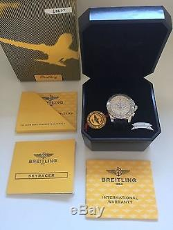 Breitling Skyracer full set top Zustand mit Box und Papieren