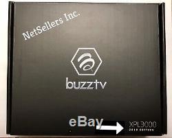 BuzzTV XPL 3000 Android IPTV set-top HD 4K TV Box (Black) FREE SHIPPING CANADA