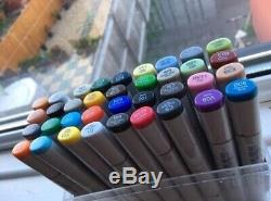 COPIC Sketch 36 Colors Set Markers top brand sketch pens in BOX