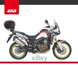 CRF1000L Africa Twin TOP BOX complete set GIVI B27NMAL CASE + SR1144 RACK +PLATE