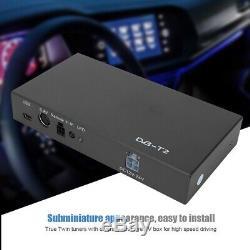 Car Mobile DVB-T2 Digital TV Set Top Box Receiver Dual Tuner UHF VHF PAL / NTSC