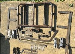 Craven QD Luggage Set, Golden Arrow Panniers, Fairline Top-box and Rack