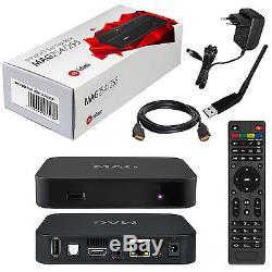 Decodificador IPTV MAG254 Wi-Fi antena, HDMI cable, Internet TV set top box, USB