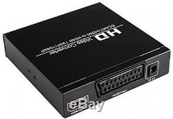 ELEPHAS SCART to HDMI Converter Adapter Signal for TV DVD Set-top Box HD Player