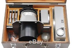 EXTRA RARE! TOP MINT CANON X-RAY CAMERA CX2-70 WOOD BOX SET From JAPAN #631