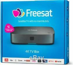FREESAT UHD-X Smart 4K Ultra HD Set Top Box Currys
