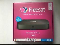 FREE SAT UHD4X Smart 4k Ultra HD Set Top Box
