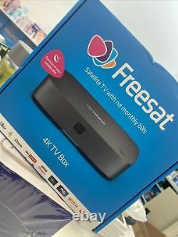 FREE SAT UHD4X Smart 4k Ultra HD Set Top Box New Sealed