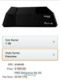 Finlux Freeview 1TB PVR Set Top Box
