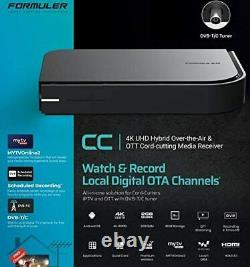 Formuler CC 4K Hybrid DVB-T/C Terrestrial Tuner Android TV IPTV Set Top Box z8